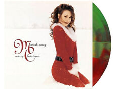 Mariah Carey - Merry Christmas Limited Edition Red & Green Vinyl LP Record