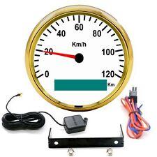 85mm 120KMH GPS Speedometer Digital Gauge Stainless For 12V 24V Car Truck Boat