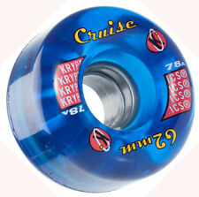 KRYPTONICS Cruise Blu ROLLER SKATE RUOTE X 8 62mm 78A / QUAD Rollerskate