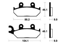 Plaquettes de frein Bendix MF150 Métal fritté pour YAMAHA