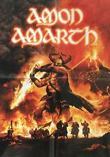 Amon Amarth-PROMO tournant Poster-Plié/Folded-Pièce de collection