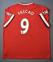 2.5/5 MANCHESTER UNITED #9 FALCAO 2014-2015 FOOTBALL HOME JERSEY SHIRT NIKE