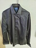 BUTTONED DOWN Men's Slim Fit French Cuff Dress Shirt Non-Iron Spread Collar