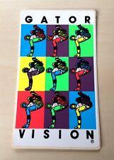 "Vintage 80s Vision Mark ""Gator"" Rogowski Skateboard Sticker Warhol N/OS Rad Art!"