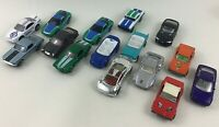 Die-Cast 1:64 Sports Race Car Loose 14pc Lot Matchbox Diecast Vintage 90s