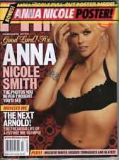 Anna Nicole Smith Magazine 2004 FHM For Him MINT Sealed Includes Bonus Poster