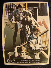 Vintage The Monkees Raybert Trading Card 1967 13 A All 4 Guys On Stairs TV Show