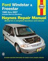 Haynes Repair Manual 36097 : Ford Windstar and Freestar 1995 Thru 2007
