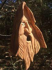 Christmas Jesus Christ Hand Carved Cedar Birdhouse With Hair