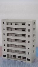 Outland Models Railway Modern Building Dormitory / School Grey N Scale 1:160
