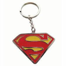 Official DC Comics Superman Classic Logo Metal Key Ring *FAST UK DISPATCH*