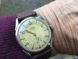 Vintage Roamer S/S Mans Watch ( Horned Lugs) No Reserve
