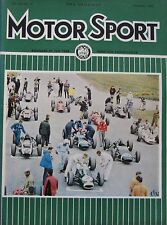 Motor Sport magazine November 1965