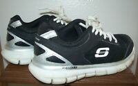 Skechers Sport Black Boy's Shoes Size 12 Flex Sole - EUC