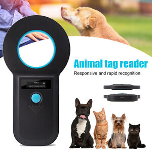 Pet ID Reader Animal EMID ISO Chip USB Charging Scanner Microchip Reader For Tag