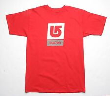 Burton Corp Vertical Tee (M) Red