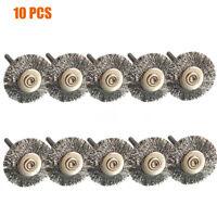 10pcs roue de polissage à polir Pad Brosses pour Dremel Accessoires outil