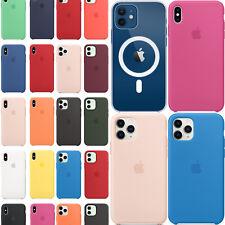 Cover Custodia Silicone Per Apple iPhone 11 12 X XR XS 8 7 6s Pro Max Plus Mini