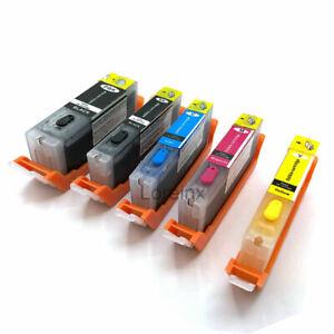 5 PCS EDIBLE ink Cartridges PGI-280 CLI-281 for Canon TS6120 8120 9120 TR7520