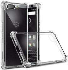 AMZER Pudding TPU X Protection Thin Case - Crystal Clear For BlackBerry Key2