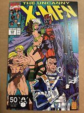 The Uncanny X-Men #274 Jim Lee & Chris Claremont  Nick Fury Magneto - NM Copy