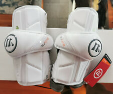 NEW Warrior Burn Pro Lacrosse Middie Arm Pads Large NY Lizards