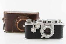 Leica IIIf mit Vorlaufwerk und red scale Elmar 3,5 5 cm Leitz   85381
