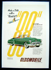 Werbeanzeige Ad  1950 Oldsmobile 88   Make a Date with a Rocket 8...  (USA)