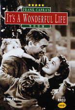 It's a Wonderful Life (1946) James Stewart, Donna Reed DVD *NEW