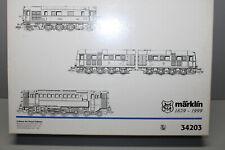 Märklin 34203 Delta Digital Locomotive Set Uhrahnen Der Dieseltraktion Gauge H0