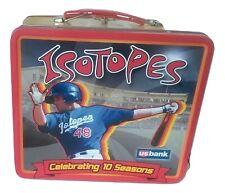Albuquerque Isotopes AAA Baseball Metal Lunchbox 10th Season