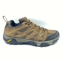 Merell Mens Moab Ventilator Earth Hiking Shoes Brown J08871 Suede Low Top 9.5 M