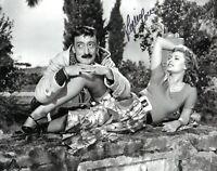 Sophia Loren Autograph Hand Signed Photo Authentic with Coa Totò Autografo