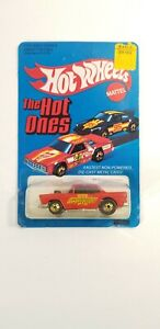 Hot Wheels 1981 The Hot Ones '55 Chevy' 5179 Chevy Fever Malaysia Unpunched