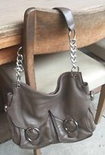 Oroton Chain Hobo Handbag Pre-owned Excellent Condition Free Postage