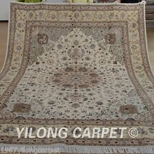 Clearance! Yilong 8'x10' Wool Area Rugs Hand knotted Carpets Hand made 1339