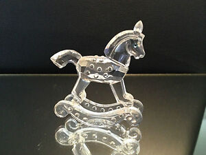 SWAROVSKI Figurine Rocking Horse 6,8 CM / Top Condition