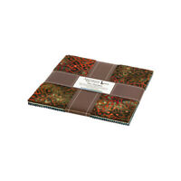 "Robert Kaufman, Inspired by Nature Batiks, 10"" Fabric Squares, TEN-768-42, B02+"