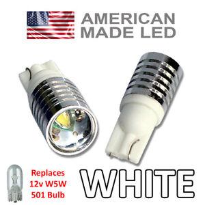 Suzuki GSX R750 LED Side Light SUPER BRIGHT Bulbs 5w Cree W5W 501 T10