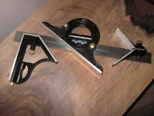 """12"""" Combination Square, Protractor and Center finder  by Valkyrie Tools"""