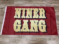 San Francisco 49ers Flag 3' x 5' Niner Gang NFC Champions Bosa Kittle Jimmy G