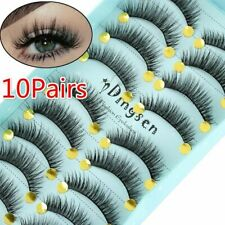 10 Pairs/Set 3D False Eyelashes Wispy Fluffy Natural Long Lashes Handmade Beauty