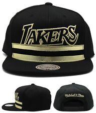 Los Angeles Lakers New Mitchell & Ness VIP Kobe Black Gold Era Snapback Hat Cap