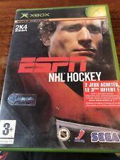 jeu xbox Espn Nhl Hockey Complet Avec Notice