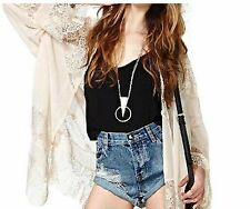 Hip Length Lace None Casual Coats & Jackets for Women