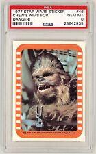 1977 Topps Star Wars sticker #46 PSA 10