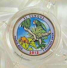 COLORIZED 2012-D / EL YUNQUE / AMERICA THE BEAUTIFUL QUARTER...13311