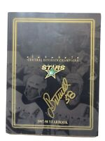 Dallas Stars 97-98 Yearbook Autographed NHL Hockey Belfour Modano Zubov Sydor