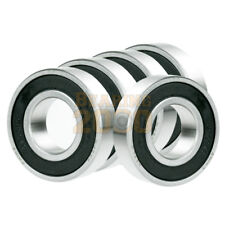 5x 6219-2RS Ball Bearing 95mm x 170mm x 32mm Rubber Seal Premium RS 2RS NEW