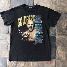 90s Vintage WCW Goldberg wrestling T Shirt Large/medium jackhammer
